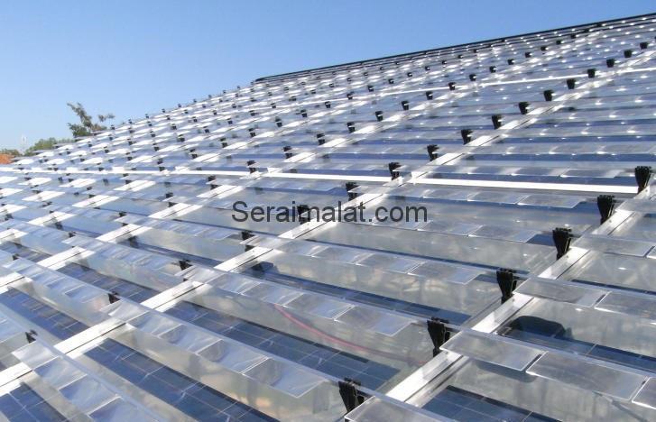 güneş enerji sera sistemi