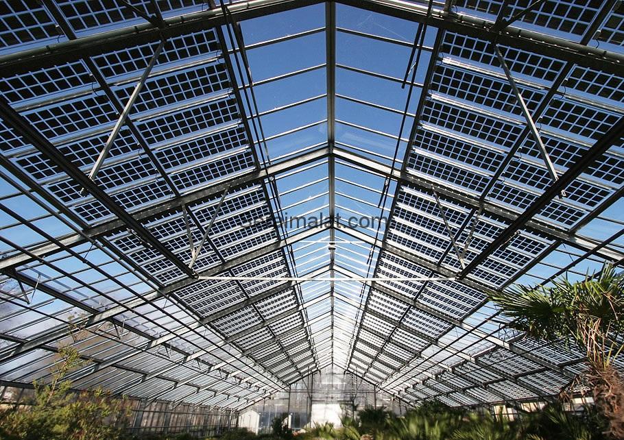 güneş enerjisi seraları